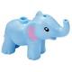LEGO elefánt kisméretű (Friends), világoskék (67410)