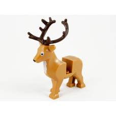 LEGO szarvas, rénszarvas aganccsal, középsötét testszínű (69060)