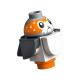 LEGO Porg (Star Wars), fehér-sötétszürke (Porg05)