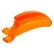 LEGO karom/szarv/fog hosszú fogóval, átlátszó narancssárga (16770)