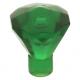 LEGO ásvány 1×1, átlátszó zöld (30153)