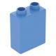 LEGO DUPLO kocka 1×2×2, középkék (4066)