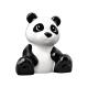 LEGO DUPLO panda maci medve, fekete-fehér (52195)