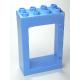 LEGO DUPLO ajtókeret 2 x 4 x 5, középkék (92094)