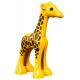 LEGO DUPLO zsiráf kölyök, sárga (54679)