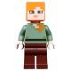 LEGO Minecraft Alex minifigura 21140 (min017)