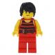 LEGO Pirates matróz minifigura 40158 (pi168)