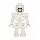 LEGO Castle Csontváz minifigura hajlított karokkal (gen047)