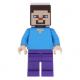 LEGO Minecraft Steve minifigura 21138 (min009)