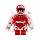LEGO Super Heroes Calendar Man minifigura köpennyel 70903 (sh335)