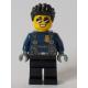 LEGO City férfi rendőr Duke DeTain minifigura 60270 (cty1042)