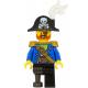 LEGO Pirates kalóz kapitány minifigura 31109 (pi185)