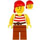 LEGO Pirates matróz minifigura 31109 (pi187)