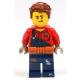 LEGO City férfi Harl Hubbs szerelő minifigura 60232 (cty1074)