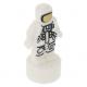 LEGO City űrhajós/asztronauta szobrocska/trófea, fehér (34959)