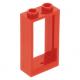 LEGO ablakkeret 1×2×3, piros (60593)