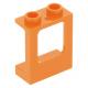 LEGO ablakkeret 1×2×2, narancssárga (60032)