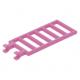 LEGO létra 7 × 3 két fogóval, sötét rózsaszín (6020)