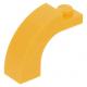 LEGO boltív 1×3×2 ívelt, világos narancssárga (6005)