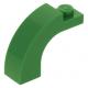 LEGO boltív 1×3×2 ívelt, zöld (6005)