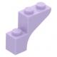 LEGO boltív 1×3×2, levendulalila (88292)