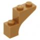 LEGO boltív 1×3×2, középsötét testszínű (88292)