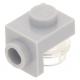 LEGO fordító elem 1×1 - 1×1, világosszürke (36841)