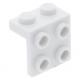 LEGO fordító elem 1 x 2 - 2 x 2, fehér (44728)