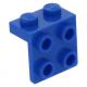 LEGO fordító elem 1 x 2 - 2 x 2, kék (44728)