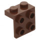 LEGO fordító elem 1 x 2 - 2 x 2, vörösesbarna (44728)
