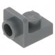 LEGO fordító elem 1×1 - 1×1 fordított, sötétszürke (36840)