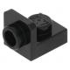 LEGO fordító elem 1×1 - 1×1 fordított, fekete (36840)