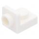 LEGO fordító elem 1×1 - 1×1 fordított, fehér (36840)