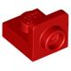 LEGO fordító elem 1×1 - 1×1 fordított, piros (36840)