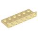 LEGO fordító elem 2×6 - 1×6, sárgásbarna (64570)