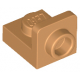 LEGO fordító elem 1×1 - 1×1 fordított, középsötét testszínű (36840)