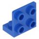 LEGO fordító elem 1 x 2 - 2 x 2, kék (99207)