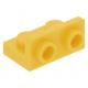 LEGO fordító elem 1×2 - 1×2, sárga (99780)