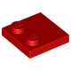 LEGO csempe 2×2 tetején 2 db bütyökkel, piros (33909)