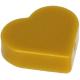 LEGO csempe 1×1 szív alakú, gyöngyház arany (39739)
