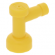 LEGO csap 1×1 lyuk nélkül, sárga (4599b)