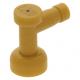 LEGO csap 1×1 lyuk nélkül, gyöngyház arany (4599b)