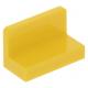 LEGO fal elem 1 x 2 x 1 lekerekített sarkokkal, sárga (4865b)