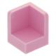 LEGO fal elem 1 x 1 x 1 lekerekített sarkokkal, világos rózsaszín (6231)