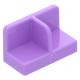 LEGO fal elem 1 x 2 x 1 középen elválasztással, közép levendulaila (93095)