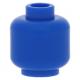 LEGO fej minta nélkül, kék (3626)