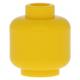 LEGO fej minta nélkül, sárga (3626)