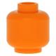 LEGO fej minta nélkül, narancssárga (3626)