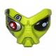 LEGO maszk/arc űrlény mintával, lime (96432)