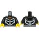 LEGO felsőtest csontváz mintás pulóver mintával, fekete (76382)